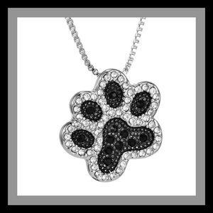 Jewelry - Paw Print 🐾 Silver Tone Necklace